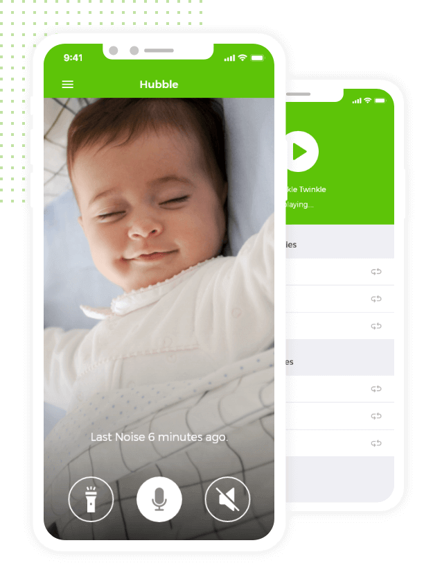 An IoT Mobile App for better parenting, and baby's good night sleep.