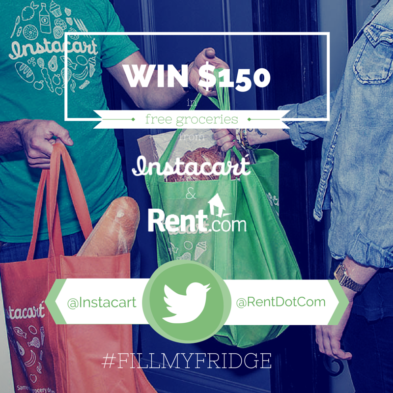 Instacart collaborating with Rent.com
