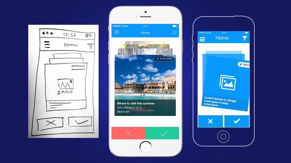 App Prototyping: Give your clients an experience to interact with the app