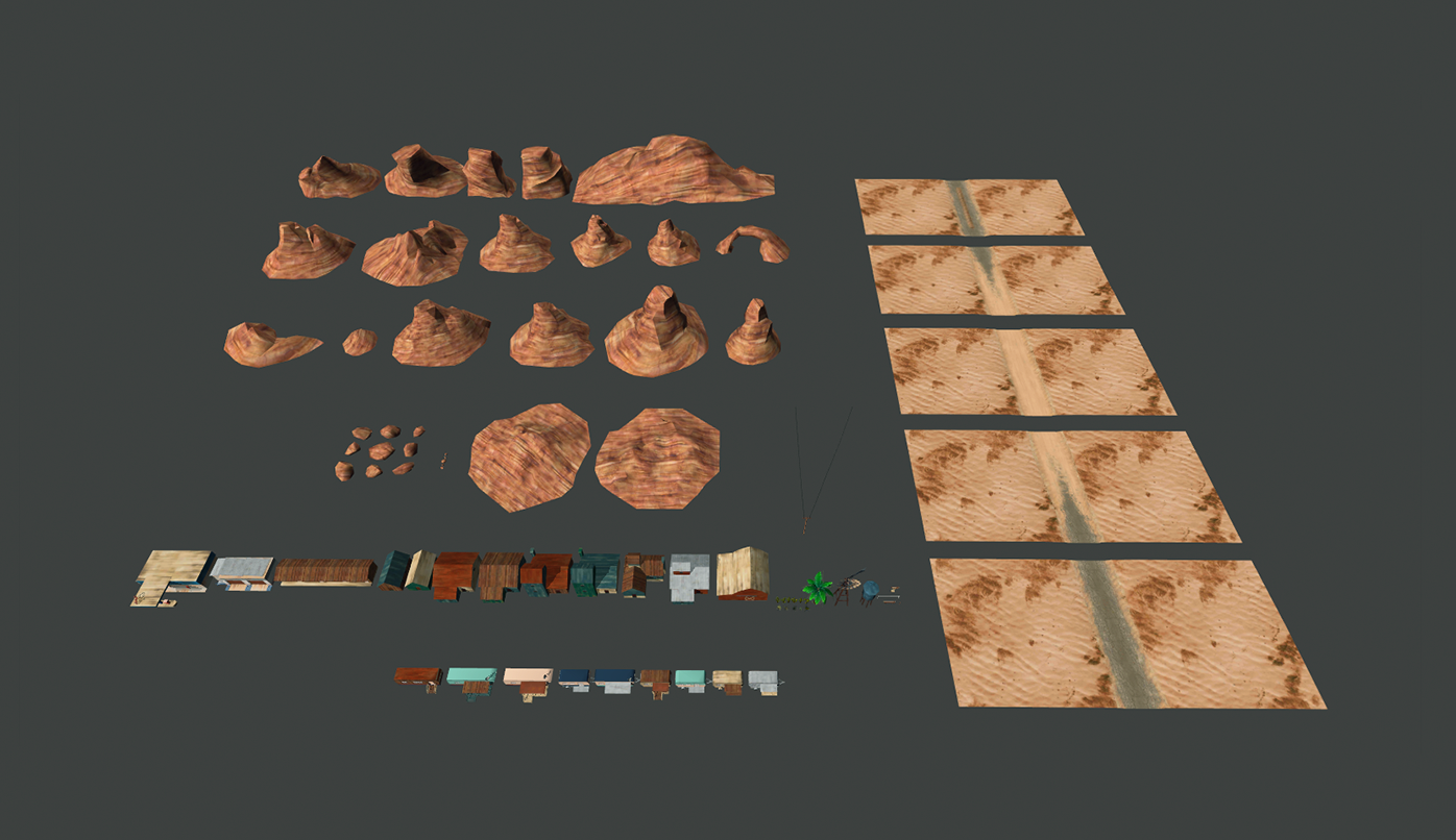 Our desert Pack on Unity Asset Store