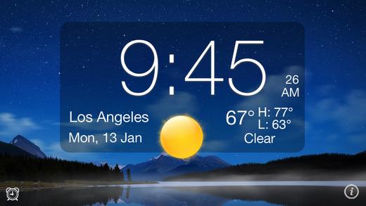 Images 3. alarm clock app for Apple TV