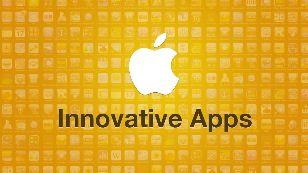 Innovative Apps on Apple Store
