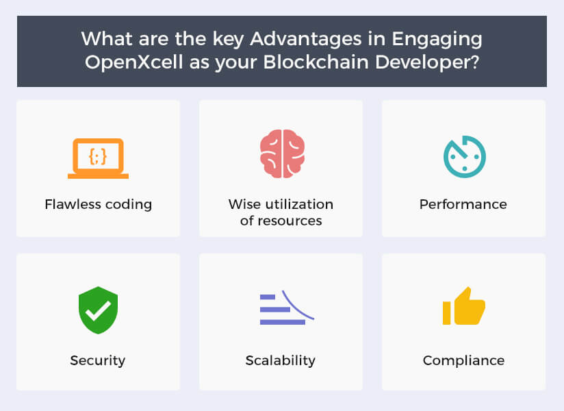 Key Advantages in Engaging OpenXcell as your Blockchain Developer