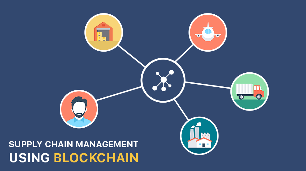 Supply chain management using blockchain