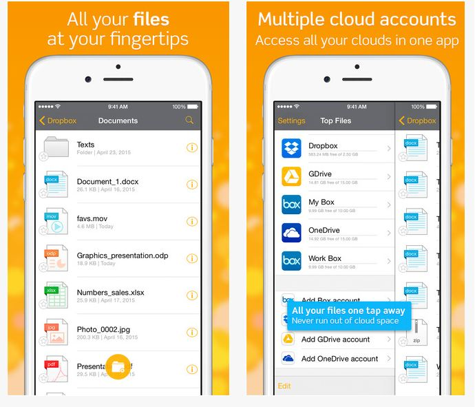 Top Docs - File Manager