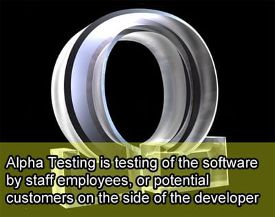 alpha-testing