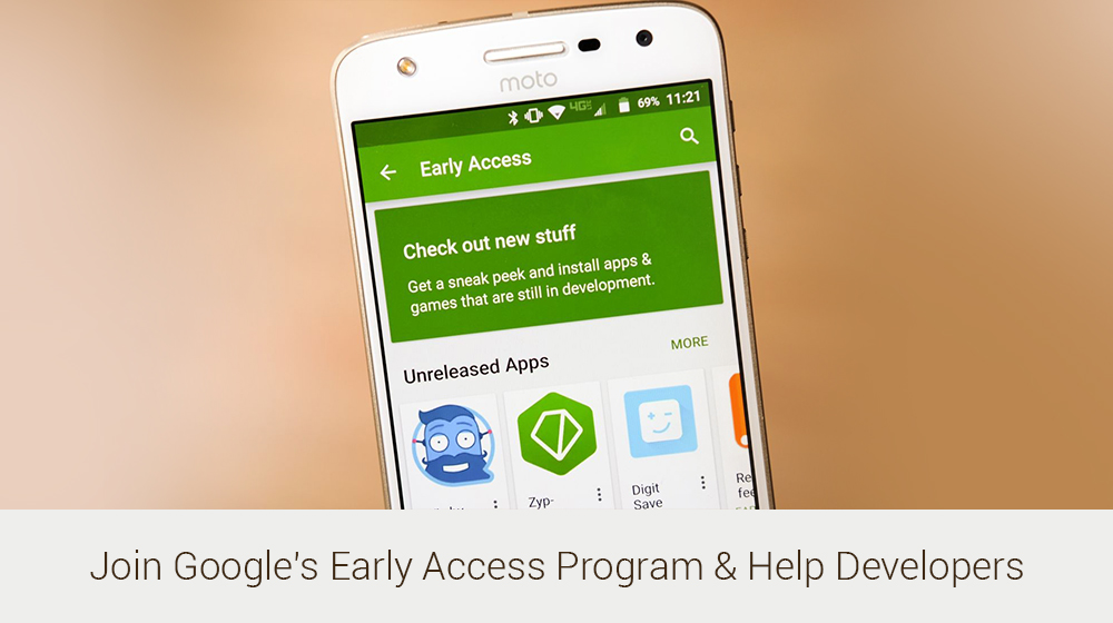 Early Access: Google Play Releases In-Development App Titles For Enthusiastic Beta Testers