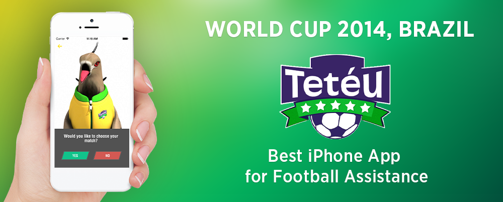 iPhone App Review: Teteu – Animated Football Assistant For Football World Cup 2014, Brazil