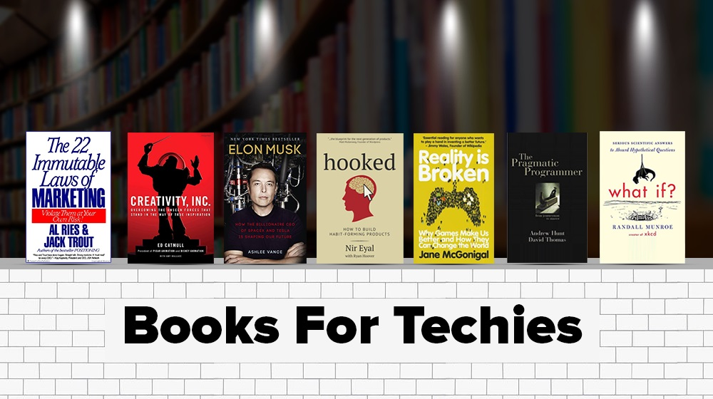 Is Reading Your New Resolution?  7 Books Every Techie Must Read in 2017