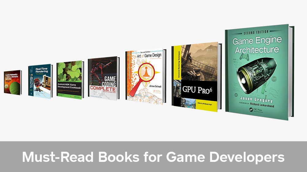 Top 7 Game Development Books for Game Developers (Beginner to Advanced)