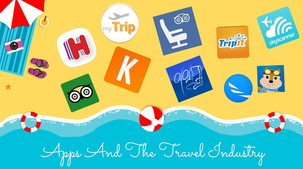 Apps And Their Impact On Travel Industry