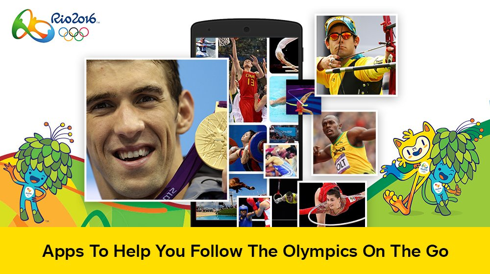Apps for Olympics: Rio 2016