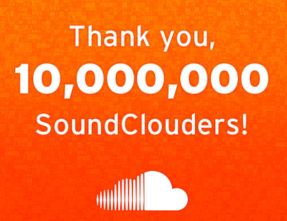 Announcement from Soundcloud on hitting 10m users on Jan 2012. It has seen steep rise in that number which stands at 175m now. No wonders they employed Go