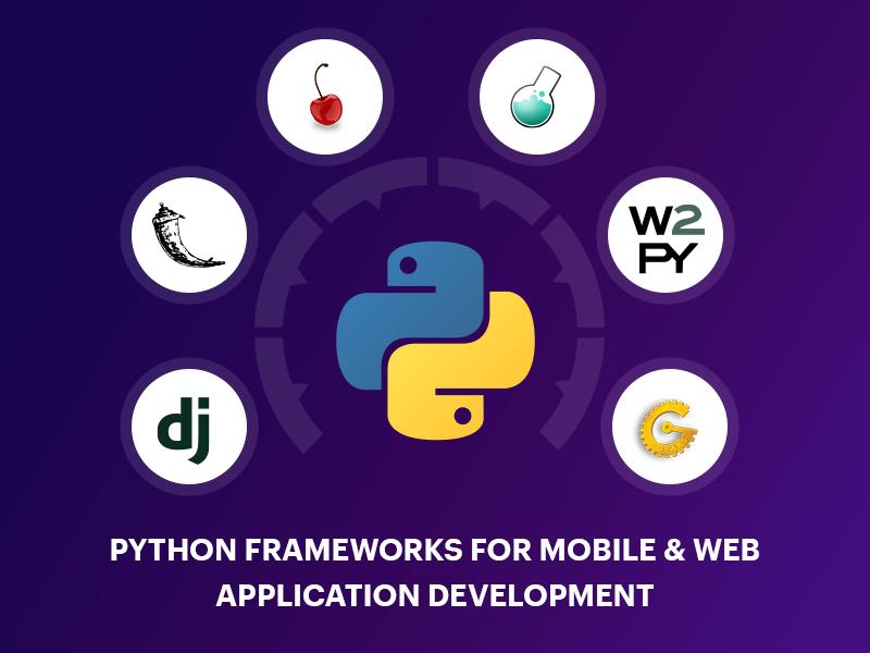 Python Frameworks For Mobile & Web Application Development